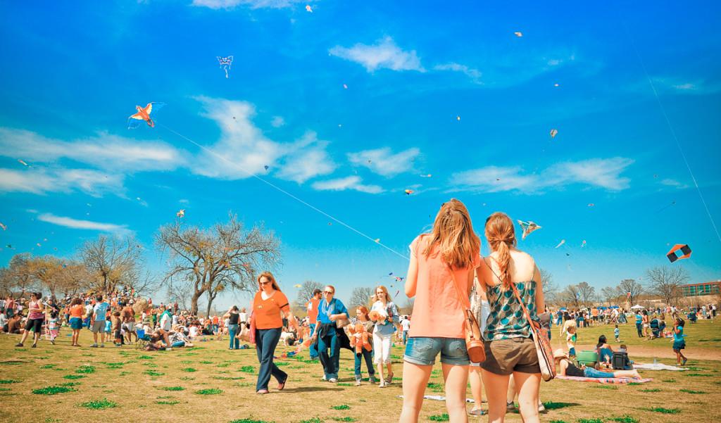 Zilker Park Kite Festival
